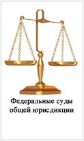 Федеральные суды общей юрисдицкии